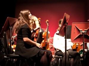 Olivia-on-violin