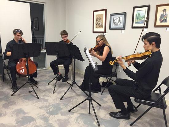 Saturday, November 12, 2016: Flagler County Art League: Go Small Opening Reception